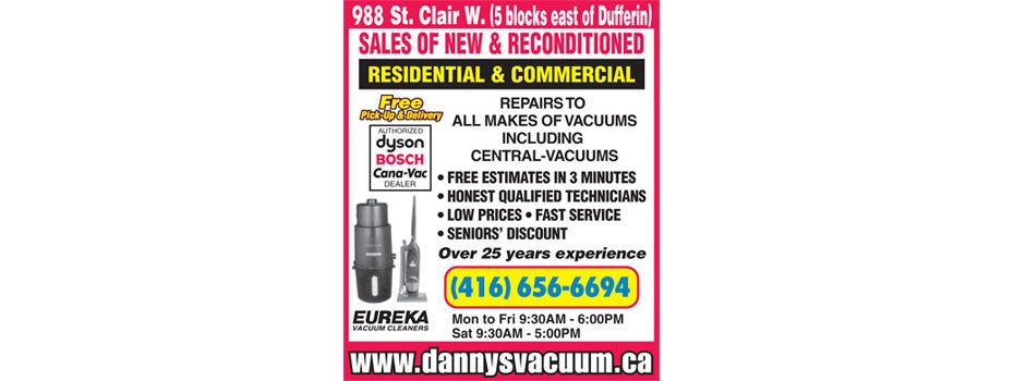 Central Vacuum Toronto Brands We Service Danny S